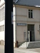 Neckarweg vor dem Badhaus