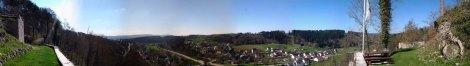 Wehrstein-Panorama