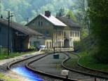 Bahnhof Eyach in Sicht