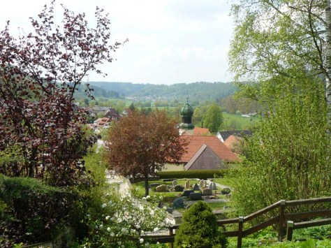 Blick zurück ins Neckartal