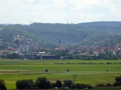 Blick zurück nach Rottenburg