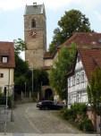 Der schiefe Turm von Neckartailfingen