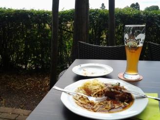 """Vesper""-Pause im Jägerhaus"