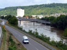 Lauschiges Neckarufer? Hier nicht ganz....