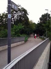Zufallsfund: Neckarweg in Esslingen