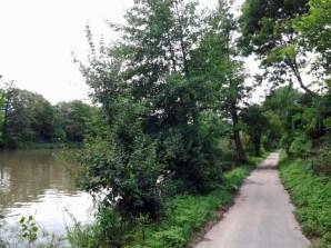 Schöner als erwartet: Zwischen Wasserstraße und Eisenbahn