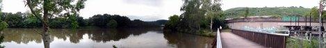 Neckarpanorama bei Kilometer 200
