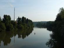 Erste Neckarquerung