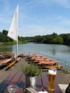 Neckarems: Bestmögliche Biergartenposition