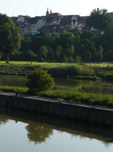 Marbach -- leider auf der falschen Neckarseite