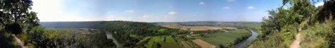 Panorama aus den Hessigheimer Felsengärten