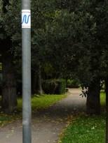 Neckarweg im Alten Friedhof