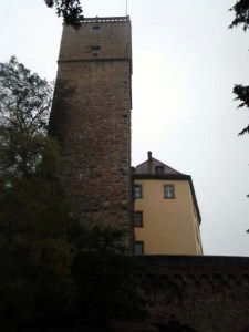Kein Plagiat, sondern echt: Burg Guttenberg