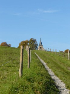 Auf dem Weg zur Michaelskapelle