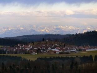 Obernheim zu Füßen der Alpen