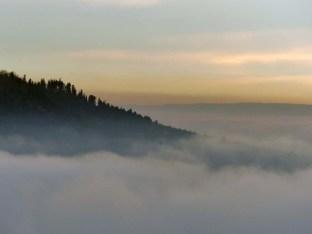 Wolkenspiele an der Albkante