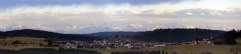 Alpenpanorama vom Plettenberg