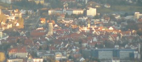 Balingen-Blick (alte Knipse)
