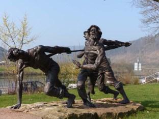 Denkmal für unfreiwillige Neckarwanderer