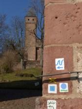 Immer noch Burg Hirschhorn