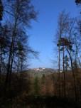 Blick zurück auf Dilsberg