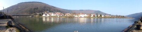 Tagesend-Panorama Neckargemünd