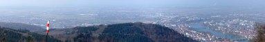 Panorama und Ausblick auf den restlichen Neckarweg