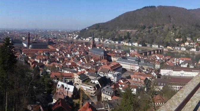 Neckarweg XXI / Neckarsteig VI: Neckargemünd — Heidelberg