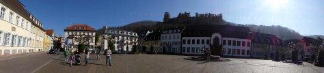 Ein letzter Blick zum Schloss
