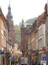 Heidelberger Fußgängerzone