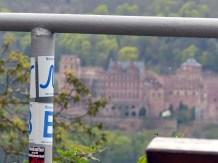 Neckarweg mit Schlossblick