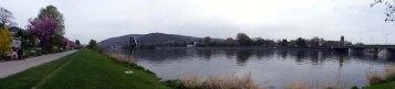 Neckarwiesen und Abschied von Heidelberg