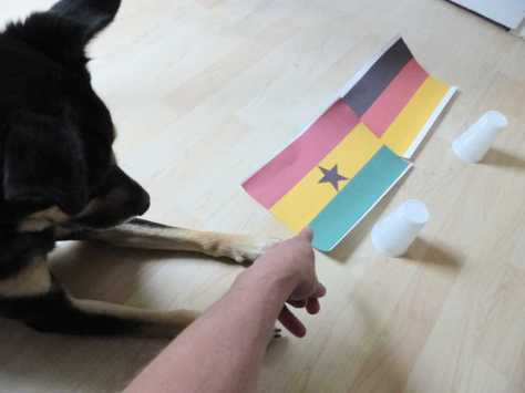 """""""Und das ist Ghana. Das hat aber nichts mit dem Ghanesha zu tun, der in Deinem Zimmer hängt""""."""