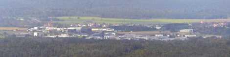 Lochenblick auf Industrie Lotzenäcker (Hechingen)