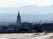 Blick zurück auf Ostdorf
