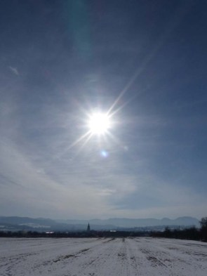 Die Sonne lacht über Ostdorf