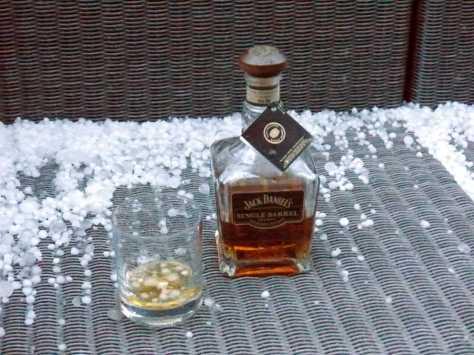 Jack Daniel's on the hail