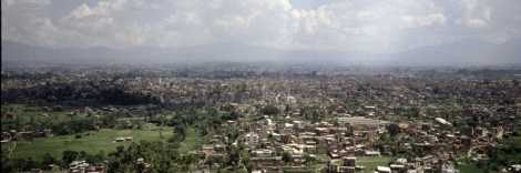 Blick auf Kathmandu