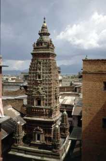 """Lalitpur/Patan: Mahaboudha Temple (""""1000-Buddha-Tempel"""")"""