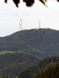 Windkraft über Gutach