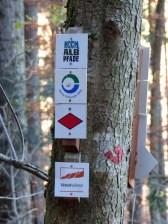 Doppelpremium: Schilderwald im Herbstwald