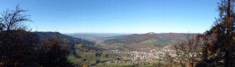Blick Richtung Balingen