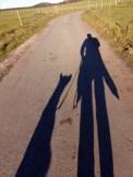 Schattenwander, z.T. auf Leckerli hoffend