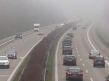 Hektischer Verkehr auf der A8