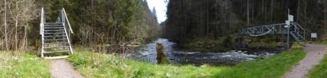 Schwarzwälder Flussmathematik: Haslach + Gutach = Wutach