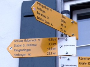 Klare Ansage: Hechingen 23 km