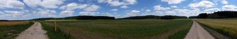 Ein letztes Albhochflächenpanorama