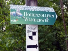 Jetzt geht's los! Start auf dem Hohenzollernweg