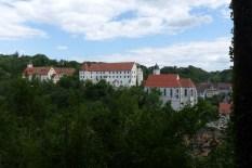"""Nach """"Extrem Urban Hiking"""": Blick auf Schloss Haigerloch"""