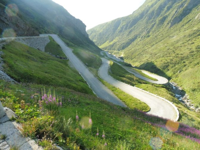 Via Gottardo 5: Gotthardpass — Faido